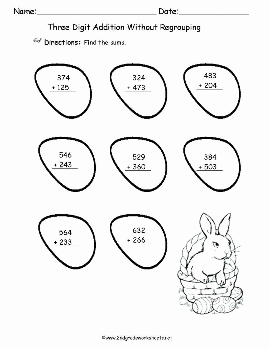 Easter Math Worksheets for Preschoolers Lovely Worksheet Amazing Third Grade Printable Worksheets