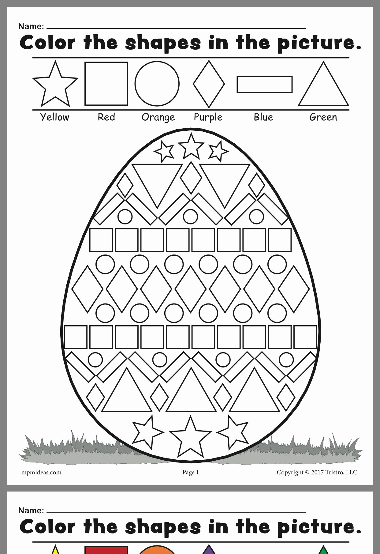 Easter Worksheets for Preschoolers Beautiful Here S A Fun Worksheet that You Can and Print for