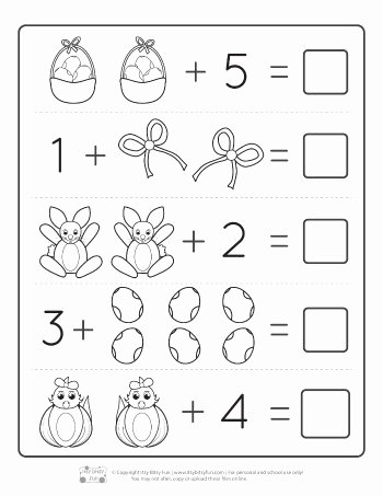 Easter Worksheets for Preschoolers Best Of Worksheet Mathets for toddlers Picture Ideas Easter