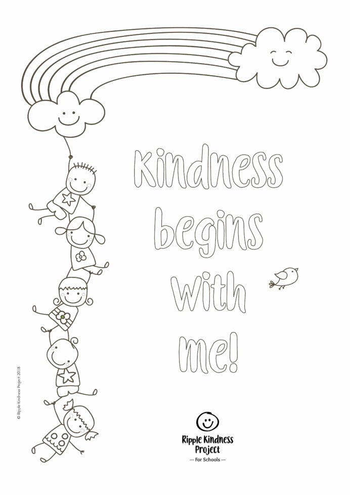 Easy Worksheets for Preschoolers New Free Printables Teaching Kindness Activities Mindfulness