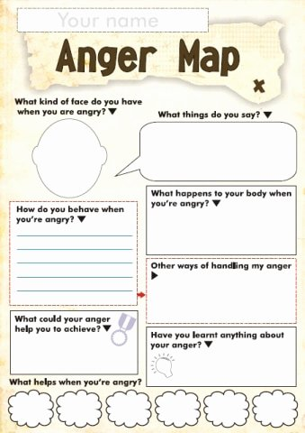 Emotion Worksheets for Preschoolers Awesome Free Anger and Feelings Worksheets for Kids