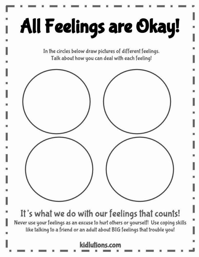 Emotion Worksheets for Preschoolers Best Of Free social Thinking Worksheets Cbt Children Emotion