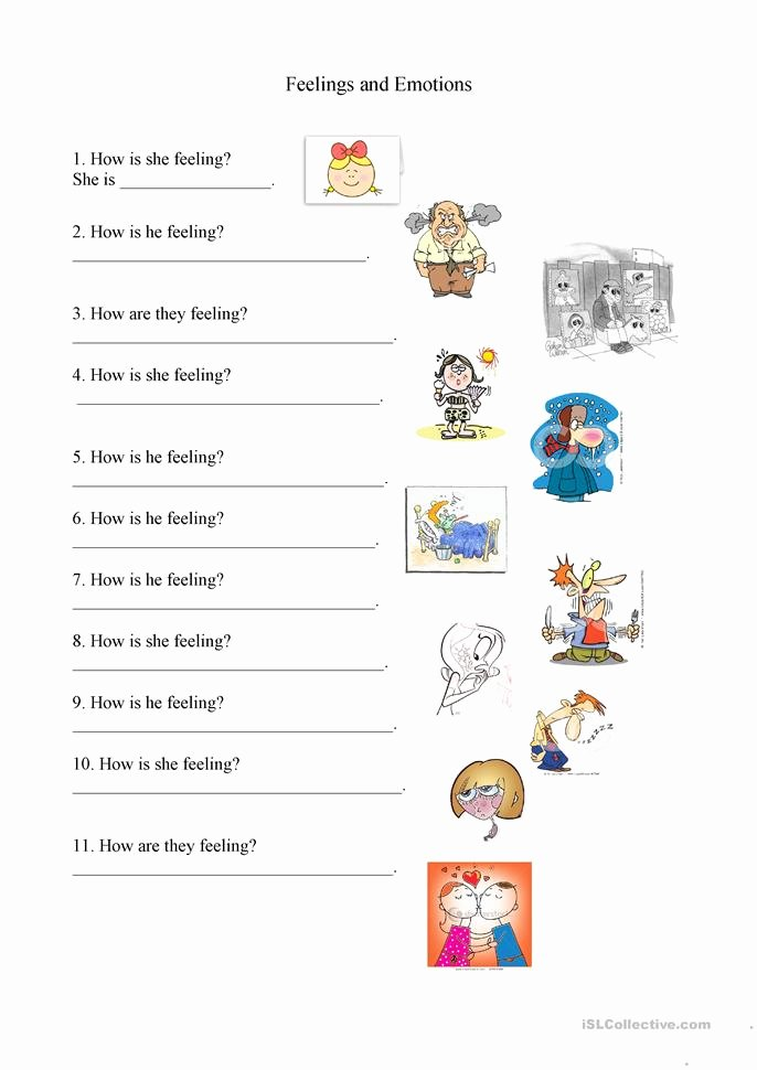 Emotion Worksheets for Preschoolers Fresh 28 [ Emotions Worksheets Pdf ]