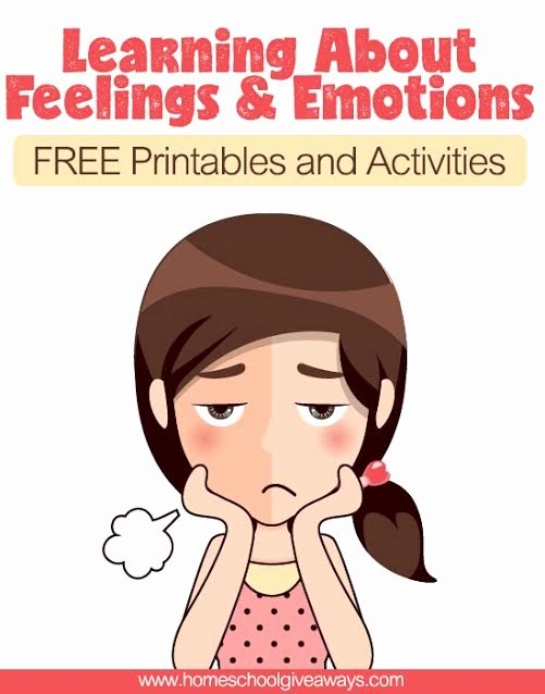 Emotion Worksheets for Preschoolers Lovely Free Printables and Activities On Feelings and Emotions