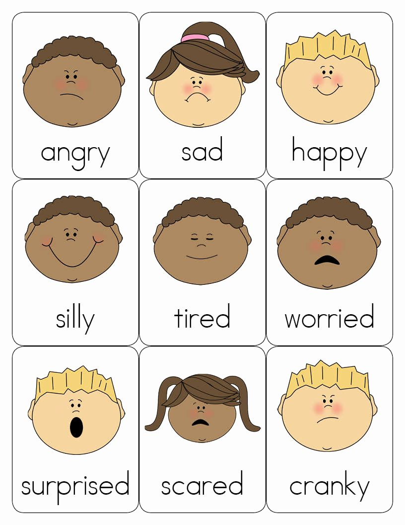 Emotion Worksheets for Preschoolers New Feelings Worksheet for Preschool Brian Molko