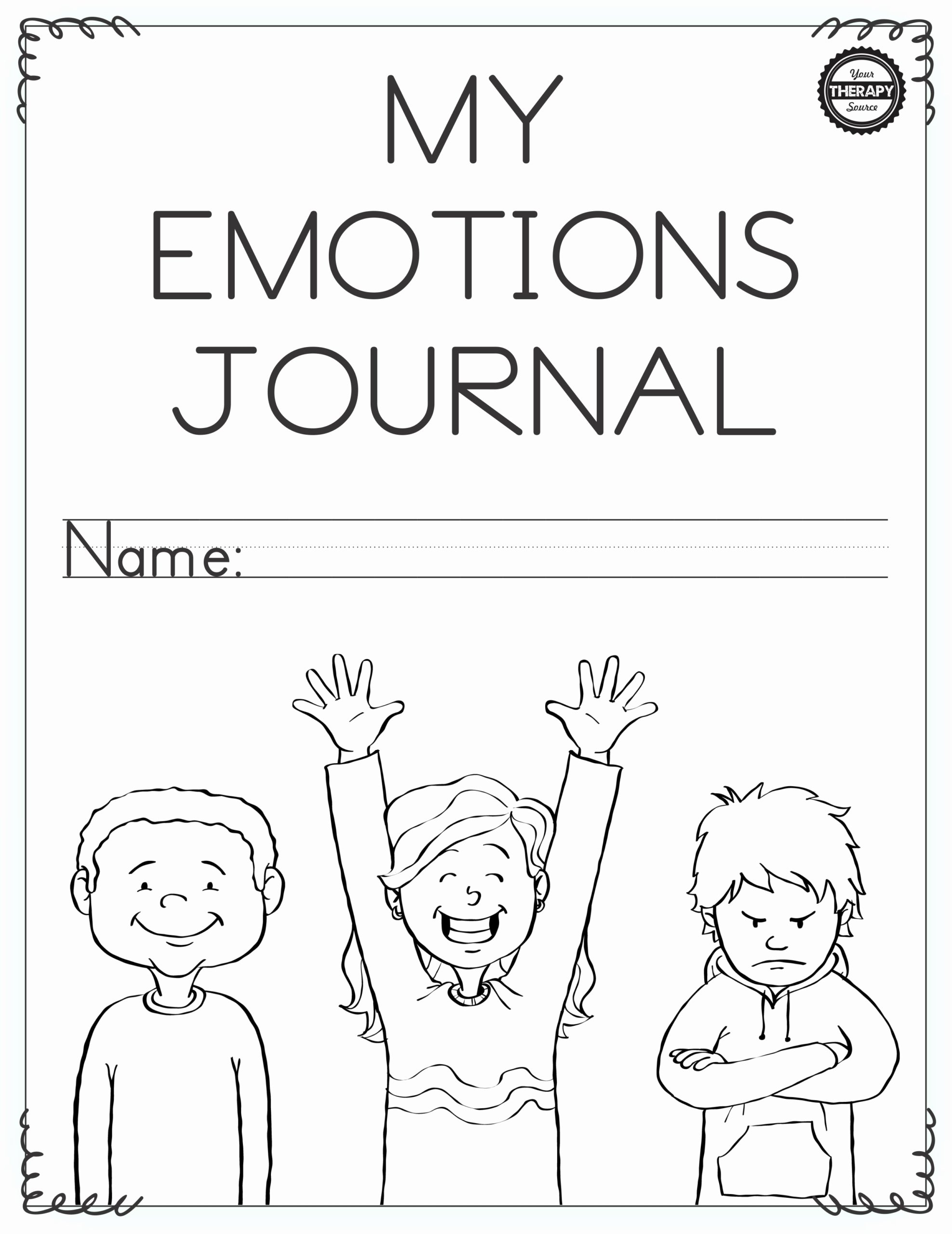 Emotion Worksheets for Preschoolers top Emotional Regulation Worksheets for Boys and Girls