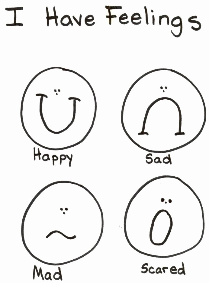 Emotions Worksheets for Preschoolers New Emotions Coloring Lds Nursery Preschool Feelings Feeling
