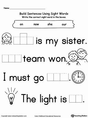 English Worksheets for Preschoolers Unique Preschool and Kindergarten Worksheets