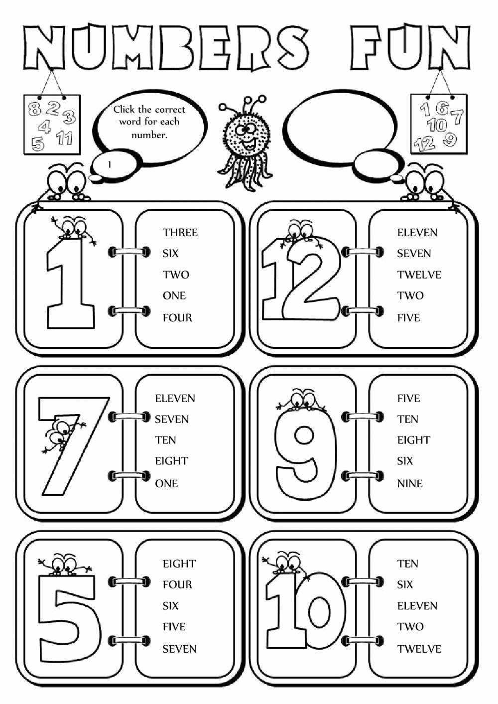Exercise Worksheets for Preschoolers Inspirational the Numbers Interactive and Able Worksheet You Can