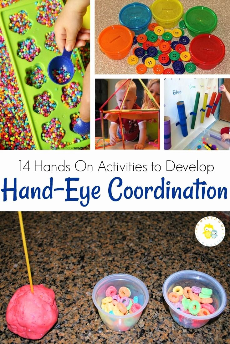 Eye Hand Coordination Activities Worksheets for Preschoolers Awesome 14 Amazing Hand Eye Coordination Activities