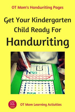 Eye Hand Coordination Activities Worksheets for Preschoolers Best Of Kindergarten Handwriting Activities and Tips