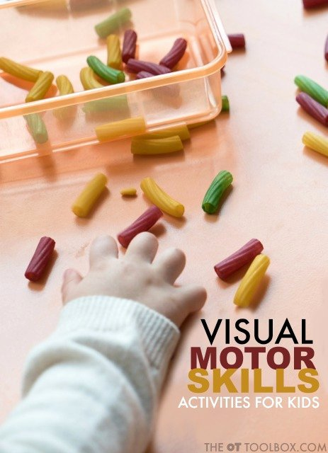 Eye Hand Coordination Activities Worksheets for Preschoolers top Visual Motor Skills the Ot toolbox