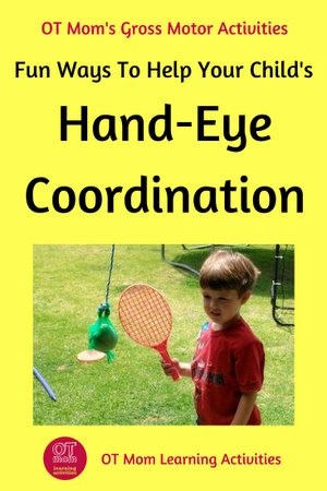 Eye Hand Coordination Activities Worksheets for Preschoolers Unique Hand Eye Coordination Activities for Kids