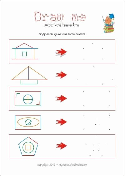Eye Hand Coordination Worksheets for Preschoolers Beautiful Copying Activities are Excellent for Improving Hand Eye