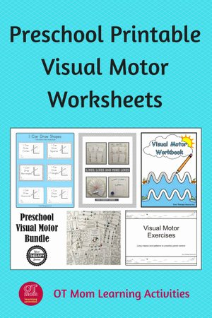 Eye Hand Coordination Worksheets for Preschoolers Lovely Preschool Visual Motor Worksheets