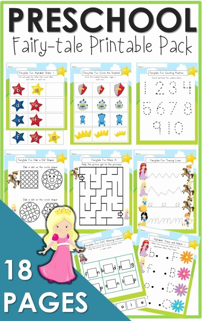 Fairy Tales Worksheets for Preschoolers top the Relaxed Homeschool Homeschooling Family and More