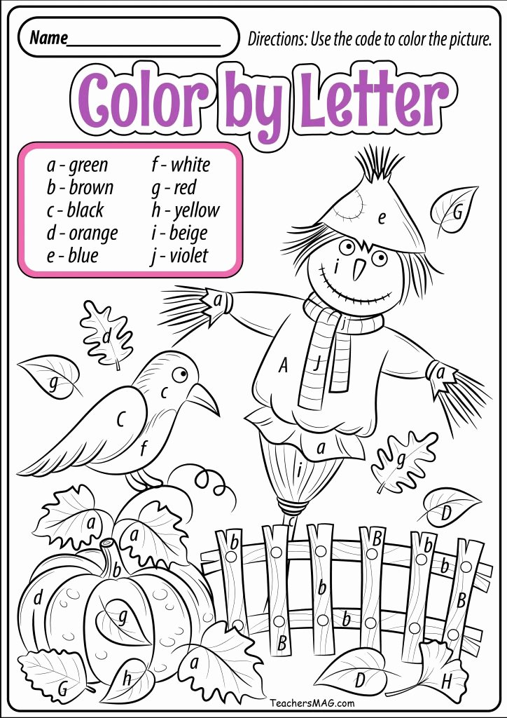 Fall Worksheets for Preschoolers Awesome Fall Worksheets and Printables for Preschool Teachersmag
