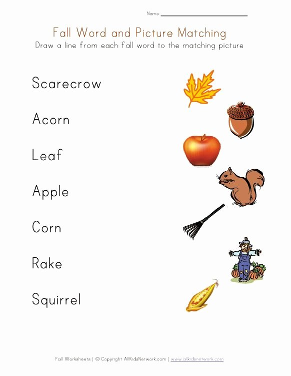 Fall Worksheets for Preschoolers Awesome Free Fall Worksheets for Kids Faithful Provisions