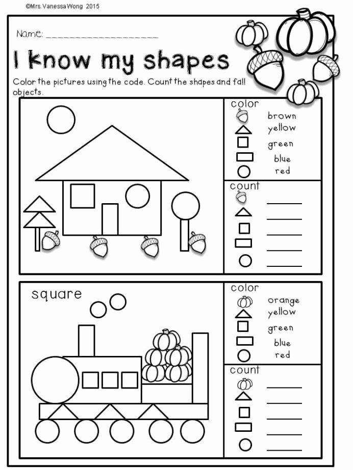 Fall Worksheets for Preschoolers New Fall Activities for Kindergarten Math and Literacy No Prep