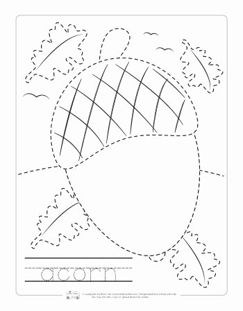 Fall Worksheets for Preschoolers New Fall Tracing Worksheets Itsybitsyfun