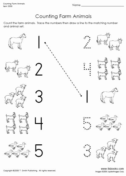 Farm Animal Worksheets for Preschoolers Best Of Farm Animals Worksheets Preschool Printables In 2020
