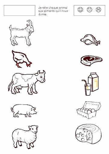 Farm Animals Worksheets for Preschoolers Beautiful Farm Animal Worksheet 1