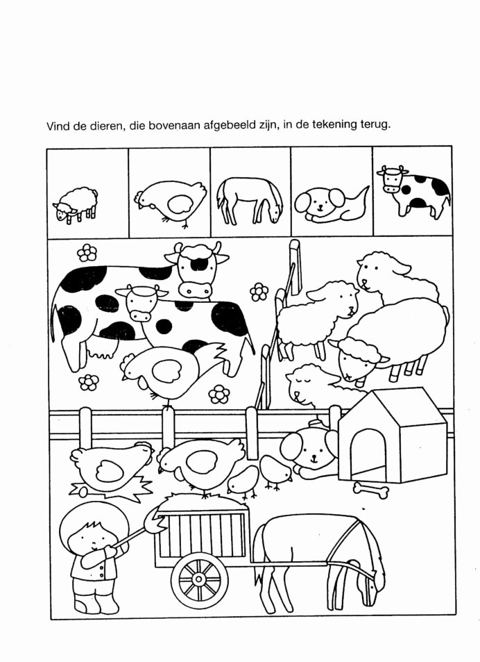 Farm Animals Worksheets for Preschoolers New Farm Animal Worksheet Kindergarten Printable Worksheets and