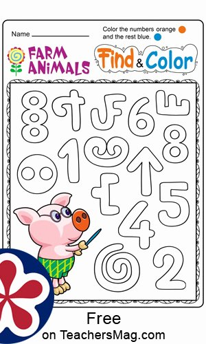 Farm Animals Worksheets for Preschoolers Unique Free Printable Farm Animal Worksheets for Preschoolers