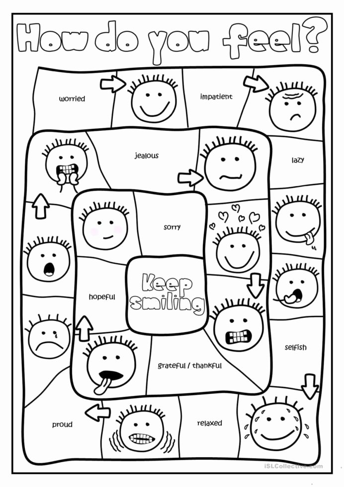 Feelings Worksheets for Preschoolers New Free Printables and Activities Feelings Emotions