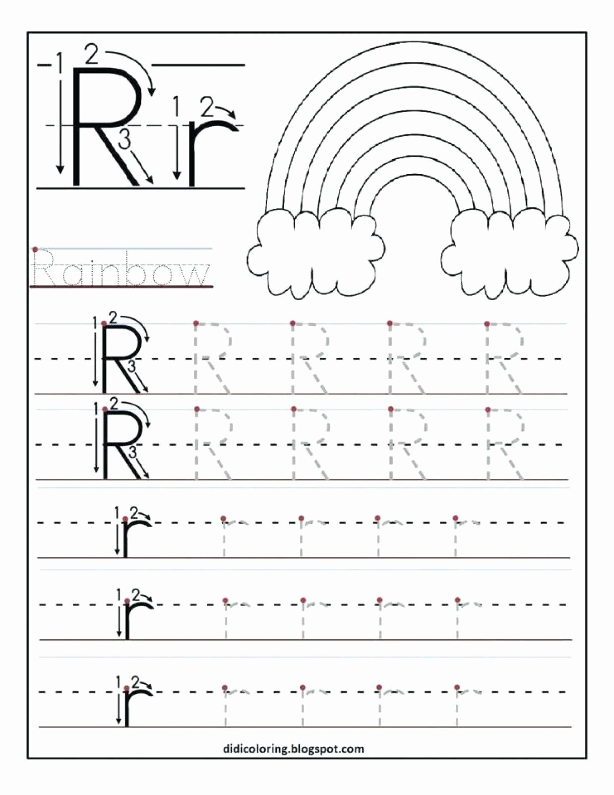 Few and Many Worksheets for Preschoolers Unique Letter forming Worksheets Printable and Activities Alphabet