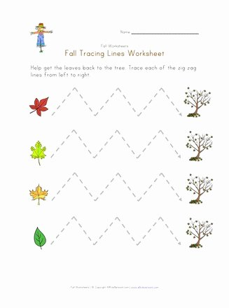 Fine Motor Worksheets for Preschoolers Fresh Fall Fine Motor Skills Worksheet