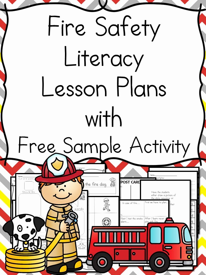 Fire Safety Worksheets for Preschoolers Best Of Fire Safety Worksheets for Kindergarten with Book Ideas and More