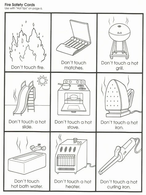 Fire Safety Worksheets for Preschoolers Fresh Squish Preschool Ideas Fire Safety Munity Helpers Fire