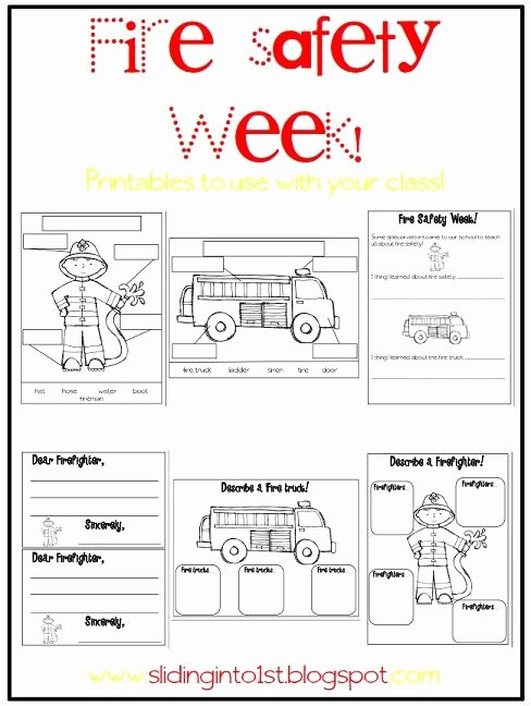 Fire Safety Worksheets for Preschoolers Inspirational Halloween Fun & Fire Safety