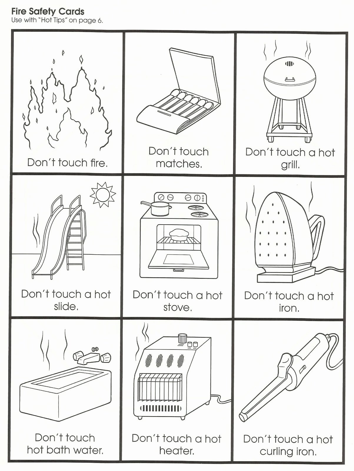 Fire Safety Worksheets for Preschoolers Inspirational Squish Preschool Ideas Fire Safety