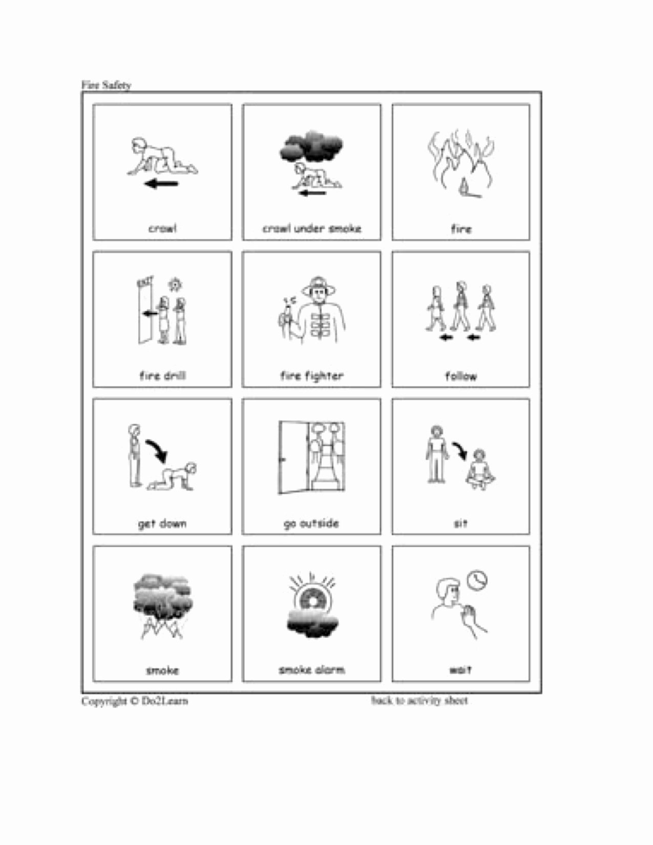 Fire Safety Worksheets for Preschoolers top Fire Safety
