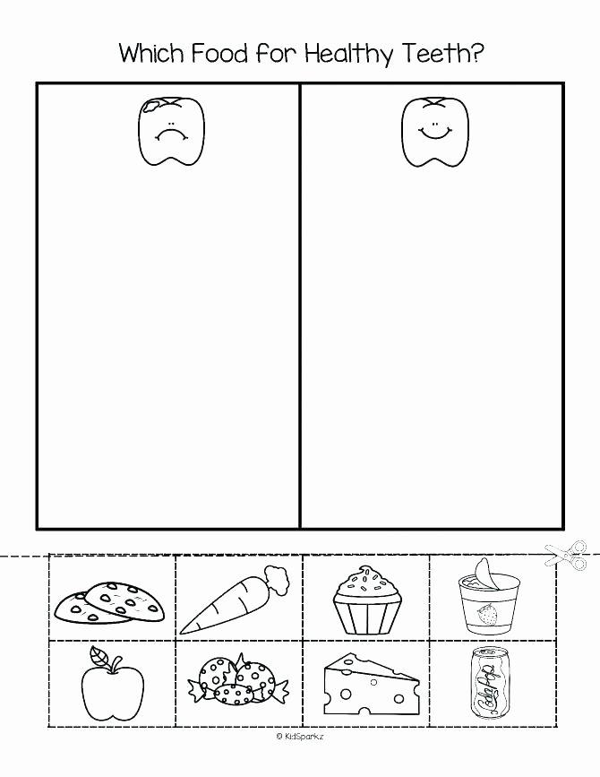 Food Worksheets for Preschoolers Beautiful Food Worksheets for Kindergarten – Dailycrazynews