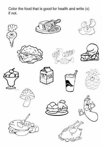 Food Worksheets for Preschoolers Fresh Crafts Actvities and Worksheets for Preschool toddler and