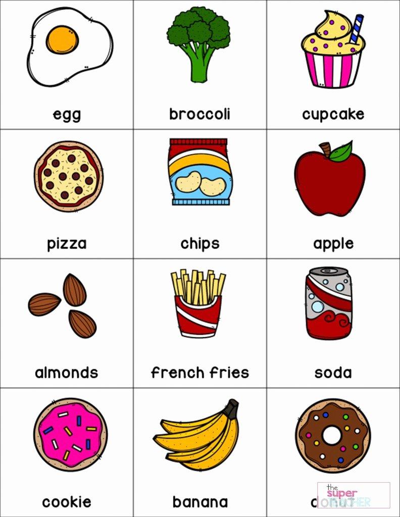 Food Worksheets for Preschoolers Fresh Healthy Foods Worksheet [free Download] the Super Teacher