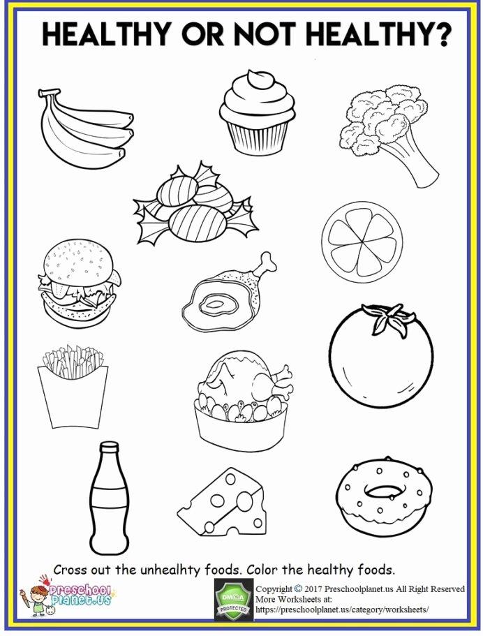 Food Worksheets for Preschoolers Inspirational Healthy Food Worksheet Out Th Flickr Worksheets Cool Fun