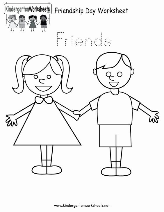 Friendship Worksheets for Preschoolers Fresh Free Printable Worksheets for Preschool