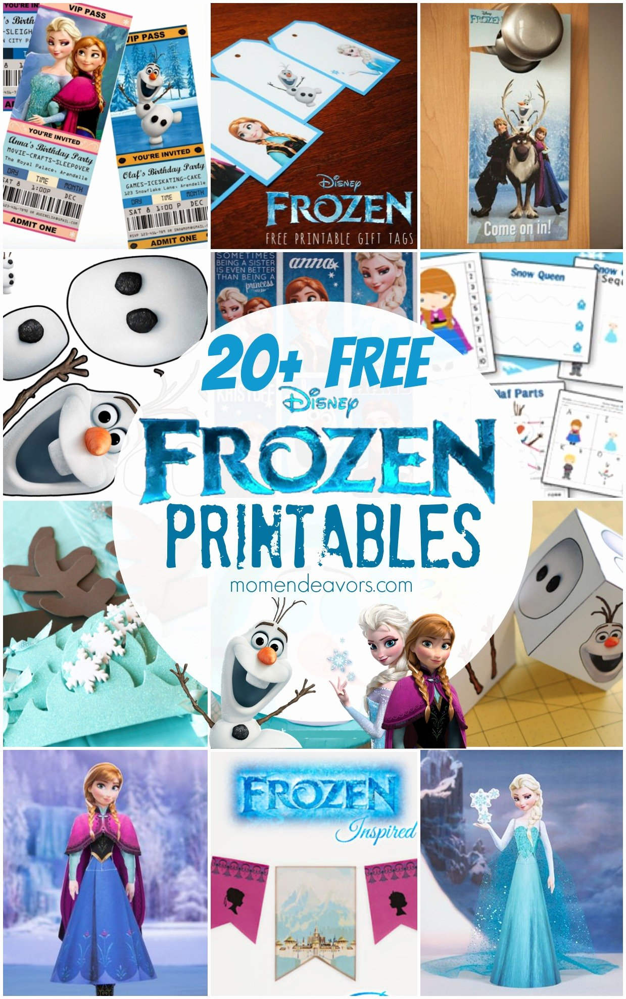 Frozen Worksheets for Preschoolers Beautiful 20 Free Disney Frozen Printables Activity Sheets & Party