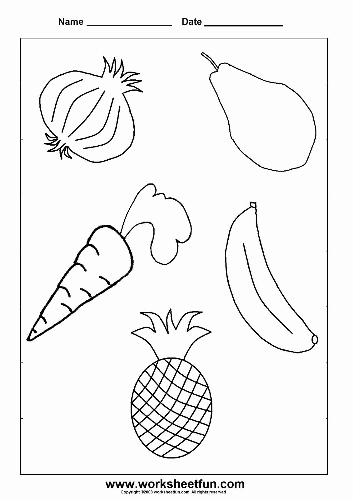 Fruits Worksheets for Preschoolers Beautiful Worksheetfun Free Printable Worksheets