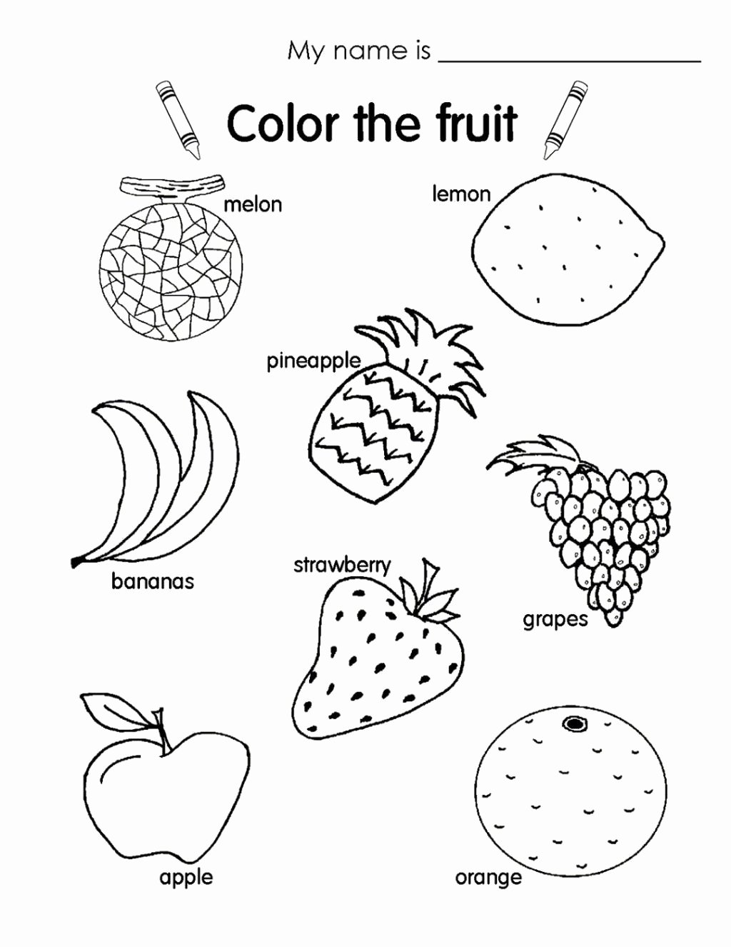 Fruits Worksheets for Preschoolers Fresh Worksheet Funorksheets for Kids Picture Ideasorksheet