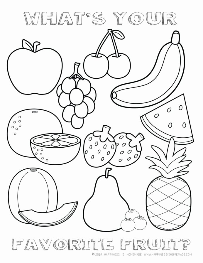 Fruits Worksheets for Preschoolers Inspirational Coloring Book Fruits the Spirit Kjv Printable Fruit