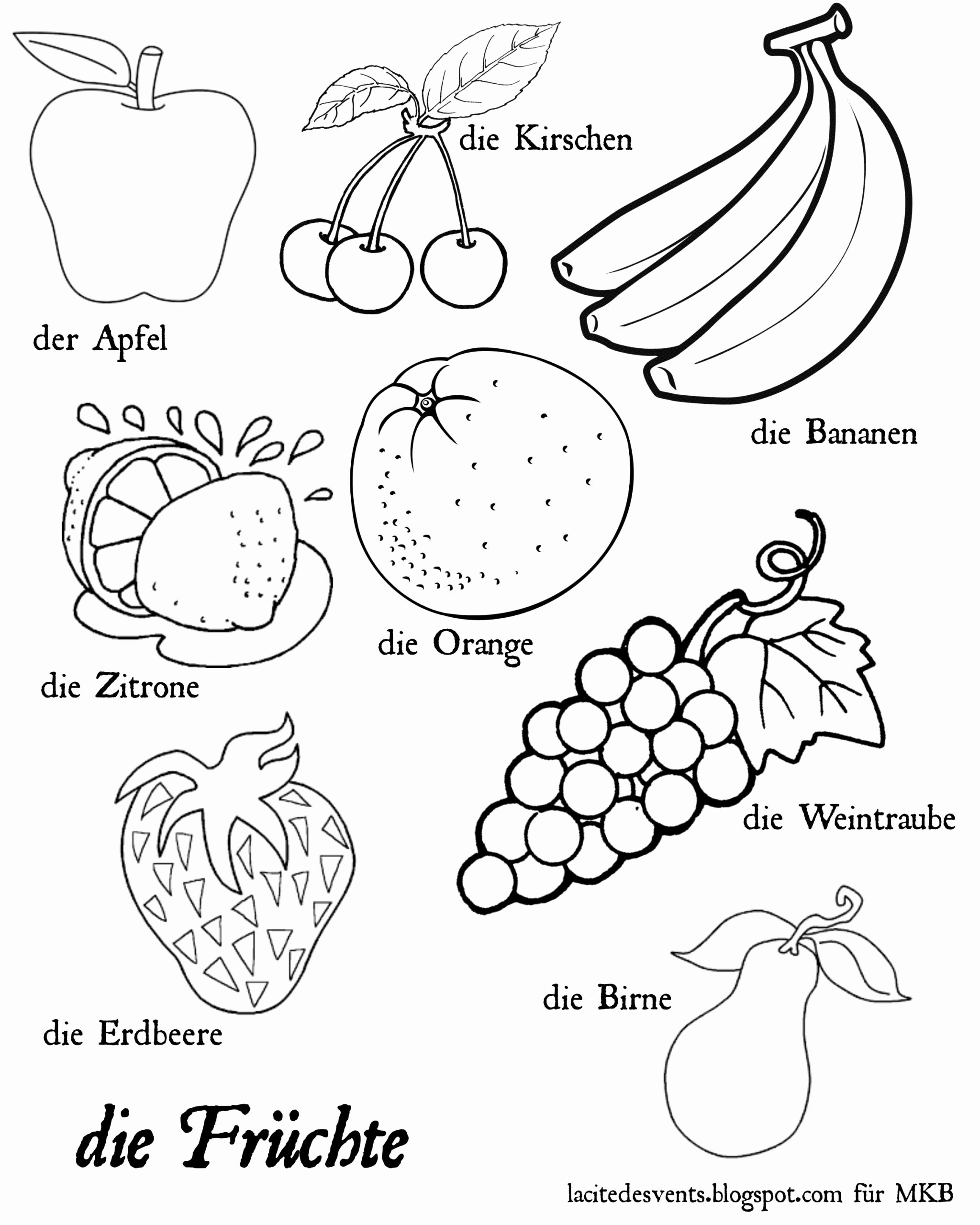 Fruits Worksheets for Preschoolers Lovely Worksheets Coloring Fruits and Ve Ables Dialogueeurope