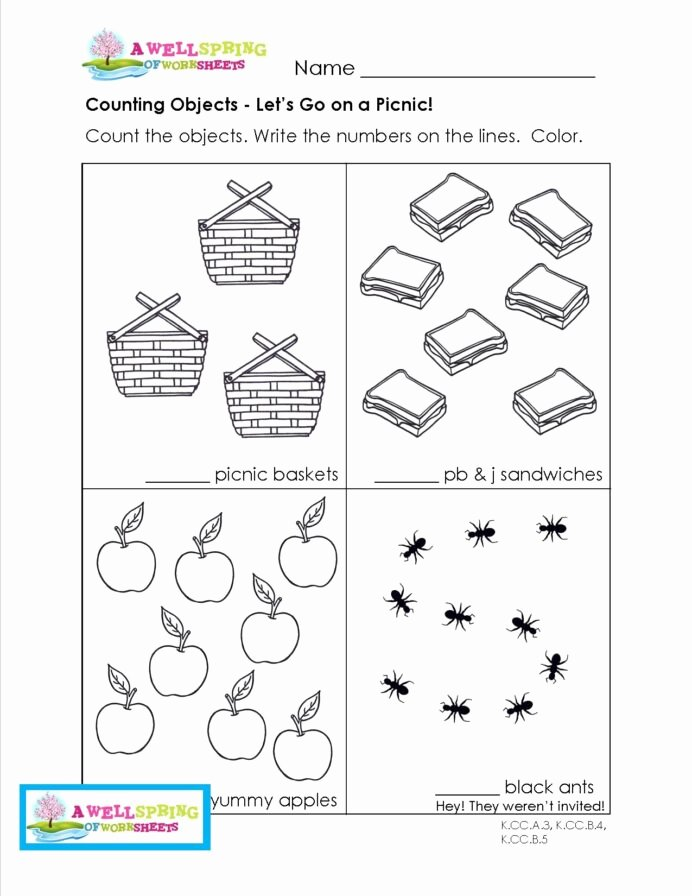 Fun Worksheets for Preschoolers Inspirational Grade Level Worksheets Kindergarten Picnic for Preschool
