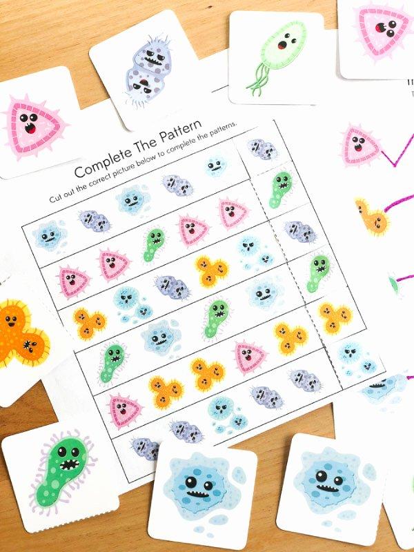 Germ Worksheets for Preschoolers Fresh Free Printable Germ Worksheets for Kindergarten