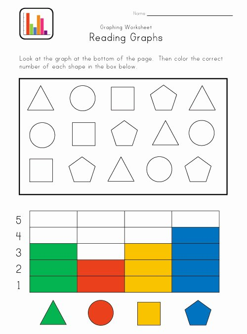 Graphing Worksheets for Preschoolers Beautiful Kindergarten Math Graphing Lessons Tes Teach