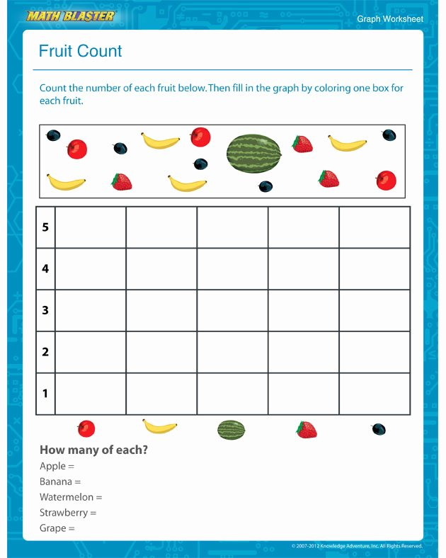 Graphing Worksheets for Preschoolers Inspirational Kindergarten Math Graphing Lessons Tes Teach Worksheets for